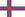 Faroe Islands/Føroyar flag