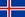 Iceland/Island flag