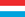 Luxembourg/Luxembourg flag