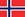 Norway/Norge flag
