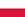 Poland/Polska flag